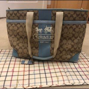 Coach Diaper Bag 2008